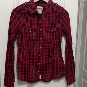 Fitted plaid shirt - Small - Garage